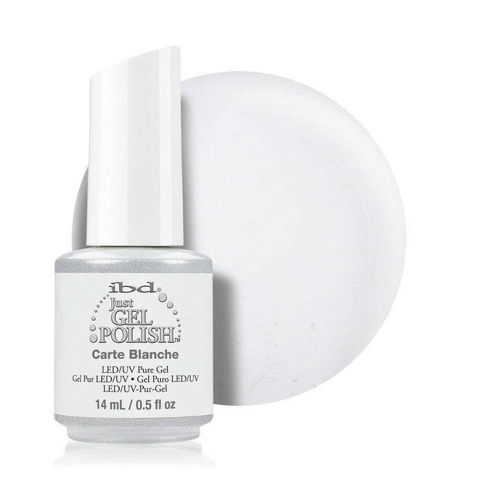 ibd Just Gel Polish 14ml - Carte Blanche (Creme) - Professional Salon Brands