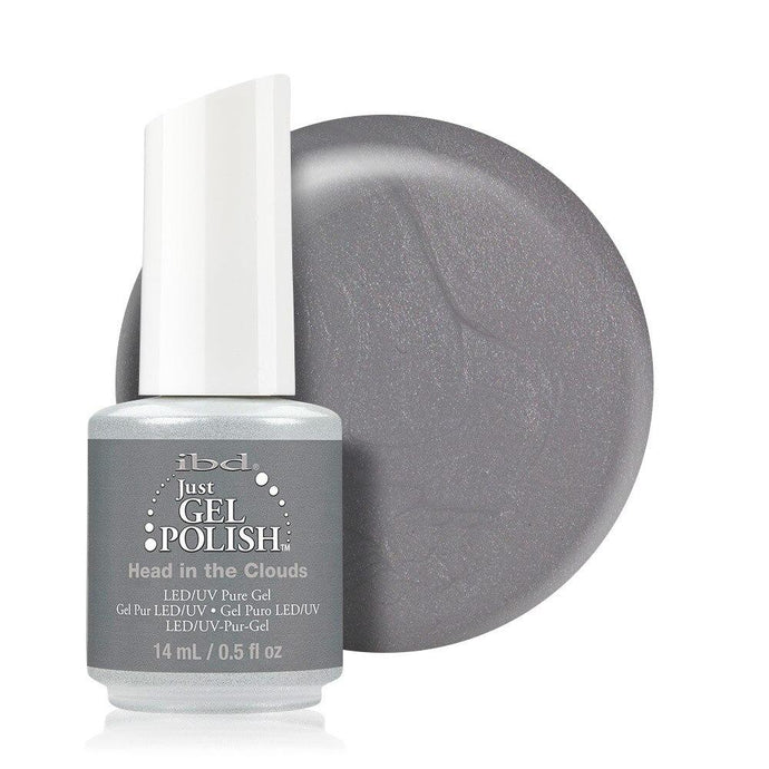 ibd Just Gel Polish 14ml - Head In The Clouds (Shimmer) - Professional Salon Brands