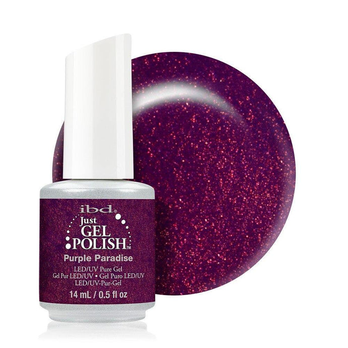 ibd Just Gel Polish 14ml - Purple Paradise - Professional Salon Brands