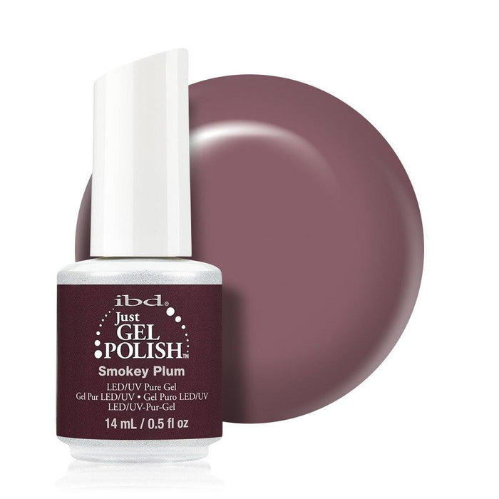 ibd Just Gel Polish 14ml - Smokey Plum - Professional Salon Brands