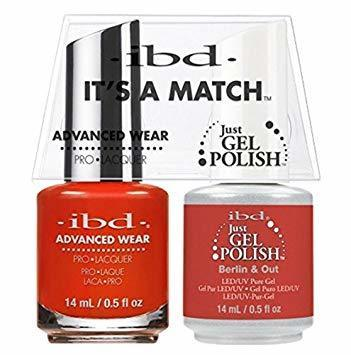ibd Gel Polish & Lacquer Duo - Berlin & Out - Professional Salon Brands