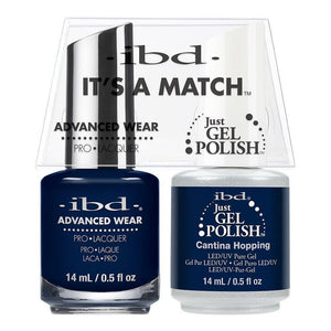 ibd Gel Polish & Lacquer Duo - Cantina Hopping - Professional Salon Brands