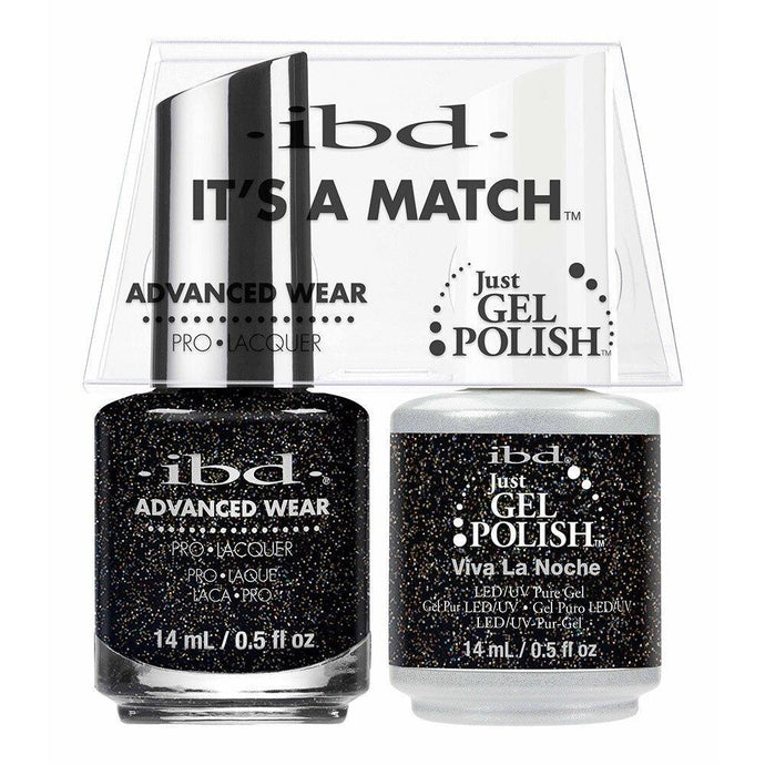 ibd Gel Polish & Lacquer Duo - Viva La Noche - Professional Salon Brands