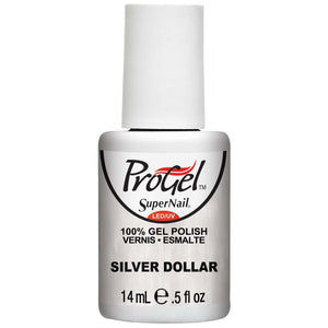 Supernail ProGel Polish - Silver Dollar - Professional Salon Brands