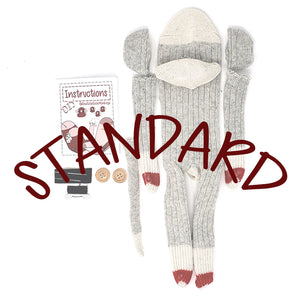 Standard DIY Sock Monkey Making Kits