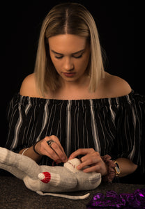 Trying to find things to do in Whitehorse? Alannah Monica teaches how to make traditional handmade sew cute sock monkeys made locally to people travelling to the Yukon. During the day Northern Lights cannot be seen but sock monkeys can be!