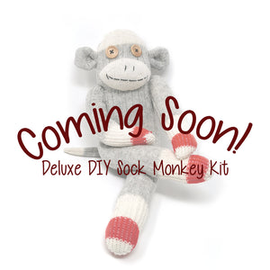 Deluxe DIY Sock Monkey Making Kits