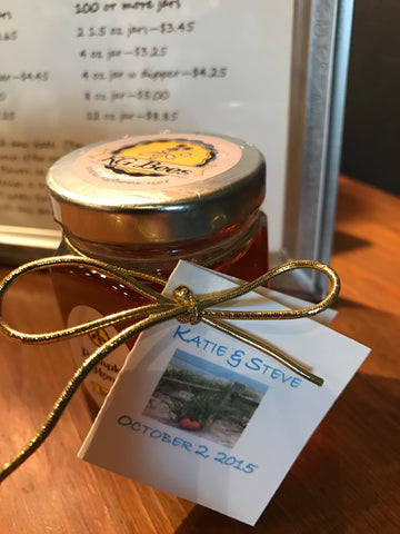 4 ounce honey gift for receptions, showers or group gifts