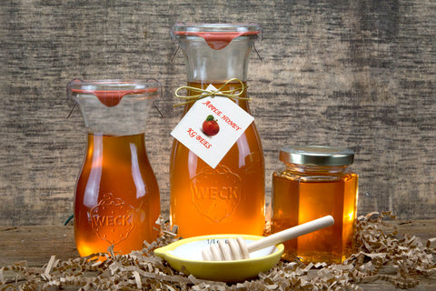 Apple Infused Honey