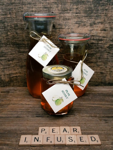 Pear Infused Honey
