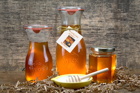 Pumpkin Pie Infused Honey