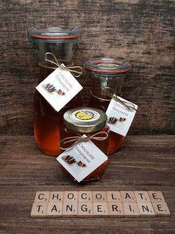 Chocolate Tangerine Infused Honey