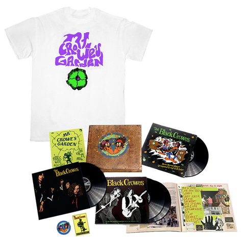 4LP SDe + Mr. Crowes Garden T-Shirt
