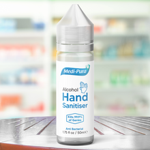 Load image into Gallery viewer, Alcohol Hand Sanitiser 50ml Medipura