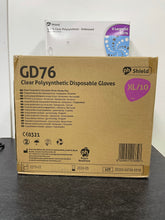 Load image into Gallery viewer, PH Shield GD76 Clear Powder-Free Polysynthetic Gloves 250 Pack