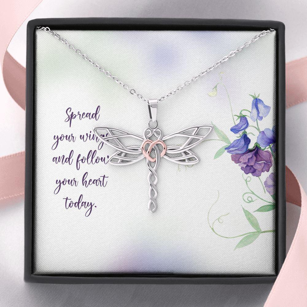Dragonfly Wings Sparkly Wings Costume Jewellery Blue Dragonfly Cosmic Blue Shimmering Ribbon Dragonfly Necklace Pretty Necklace