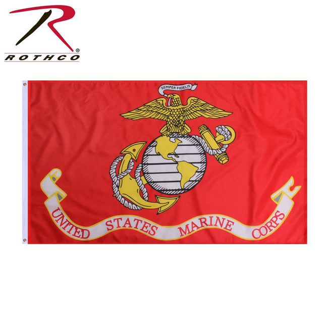 ROTHCO USMC FLAG - Marine Corps Direct