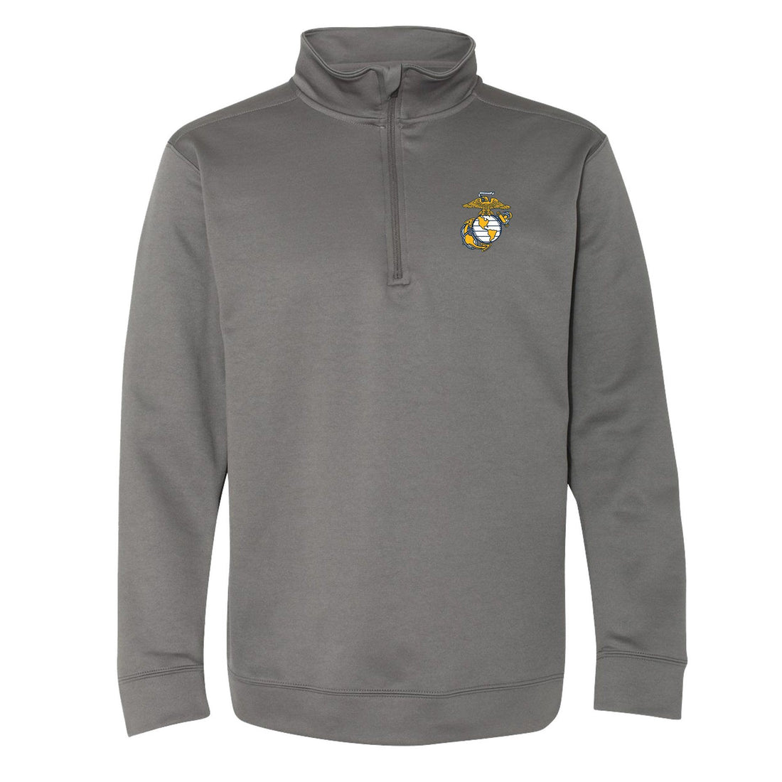 COMBAT CHARGED DRI-FIT PERFORMANCE POLY EGA 1/4 ZIP
