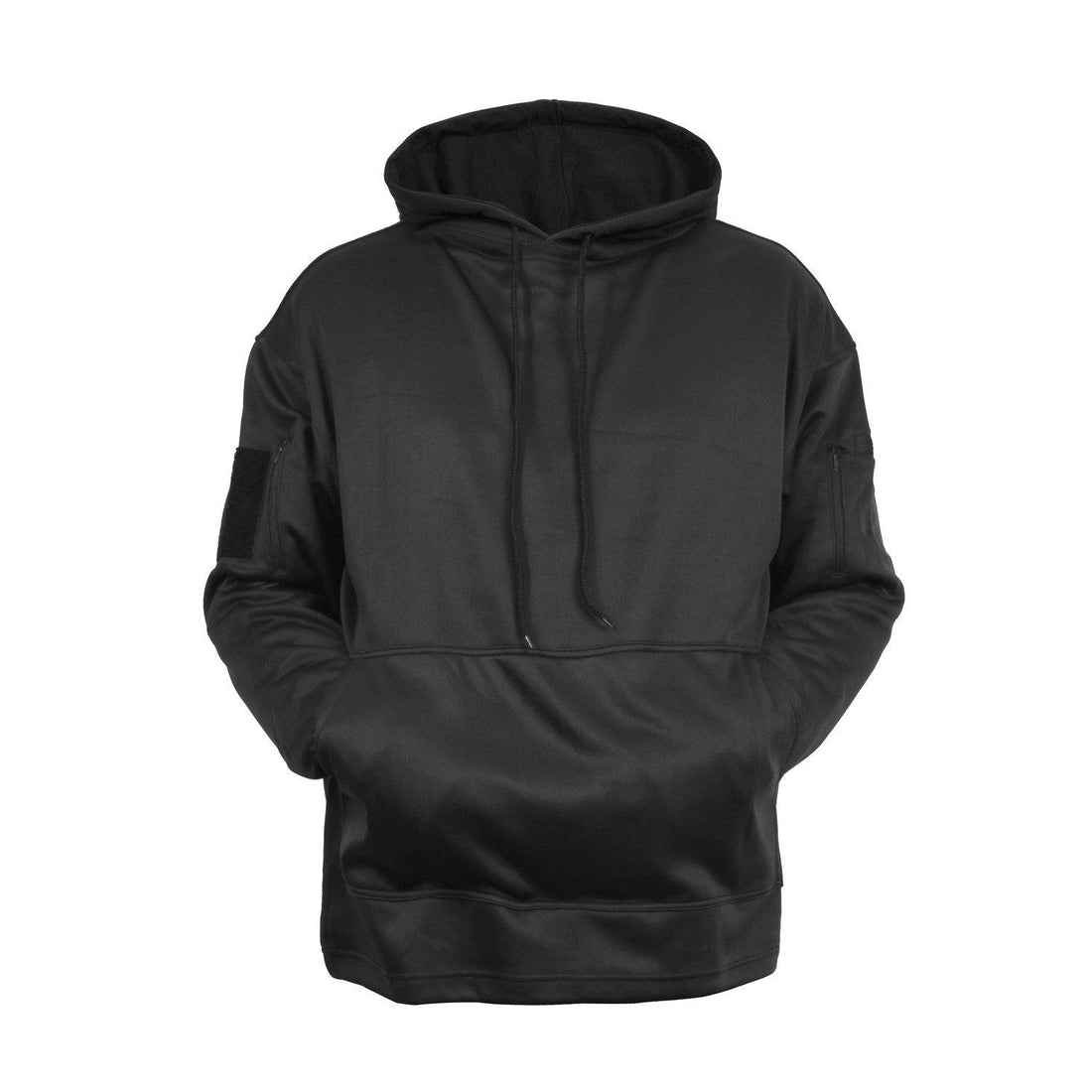 Black concealed carry hoodie from Marine Corps Direct.