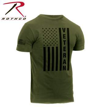 Rothco Veteran Flag T-Shirt