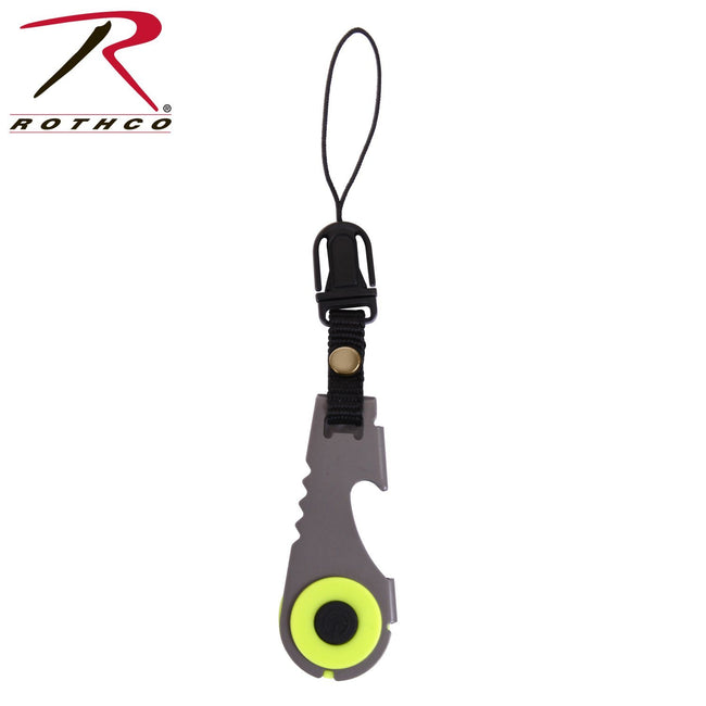 Rothco Zipper Pull Flashlight & Bottle Opener
