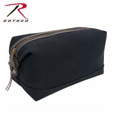 Rothco Canvas & Leather Travel Kit