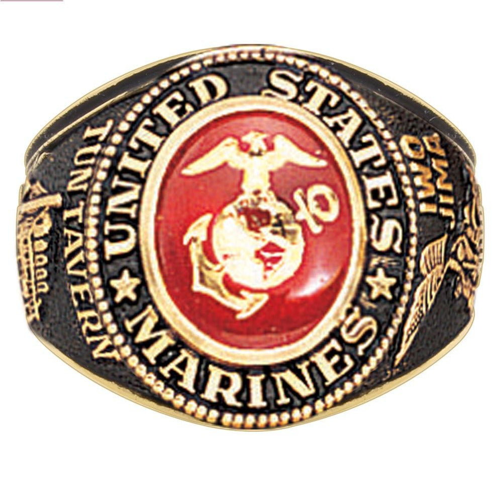 Marine Corps Gold Ring