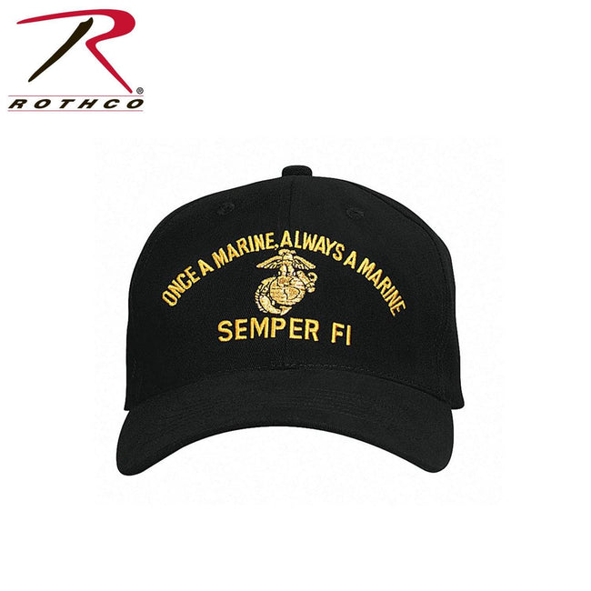 Rothco Marine Semper Fi Low Profile Cap - Marine Corps Direct