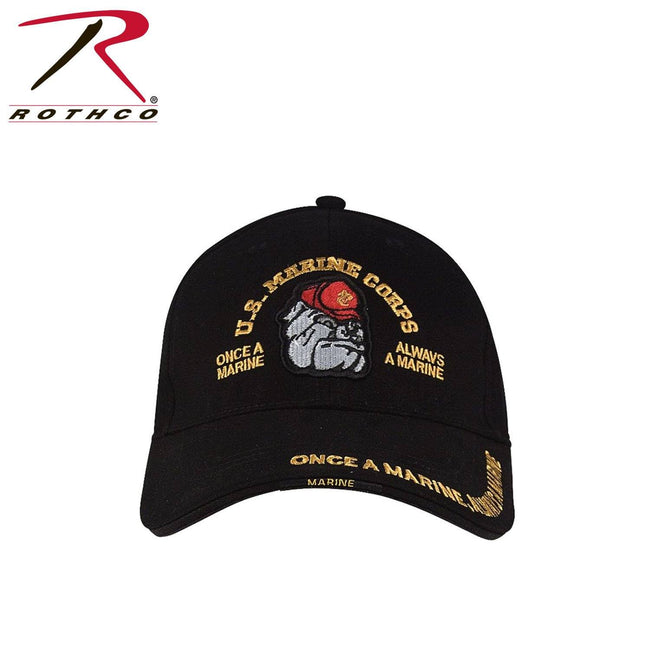 Rothco Deluxe Marine Bulldog Low Profile Cap - Marine Corps Direct