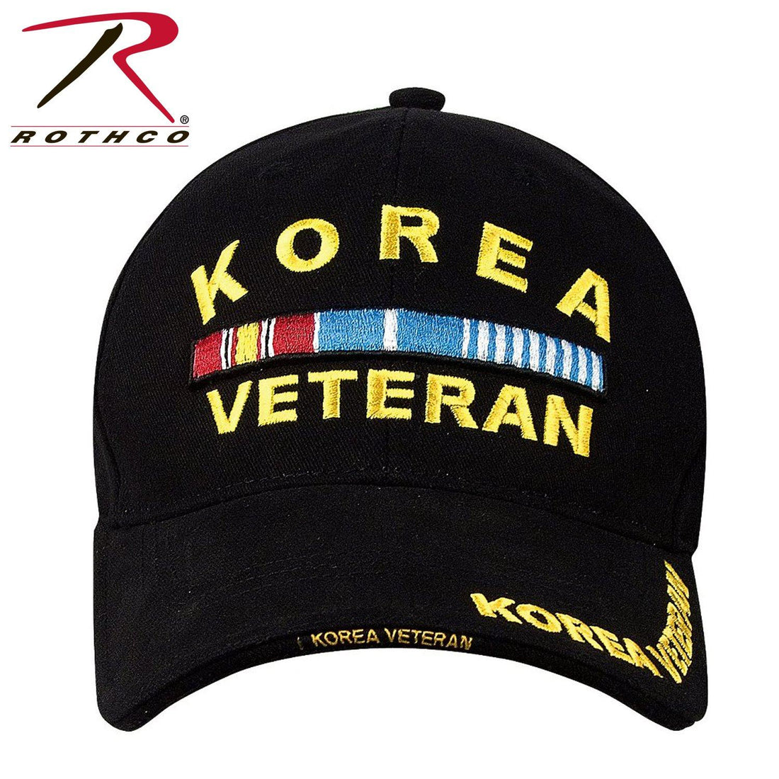 USMC hat by Marine Corps Direct called Rothco Deluxe Korea Veteran Low Profile Insignia Cap
