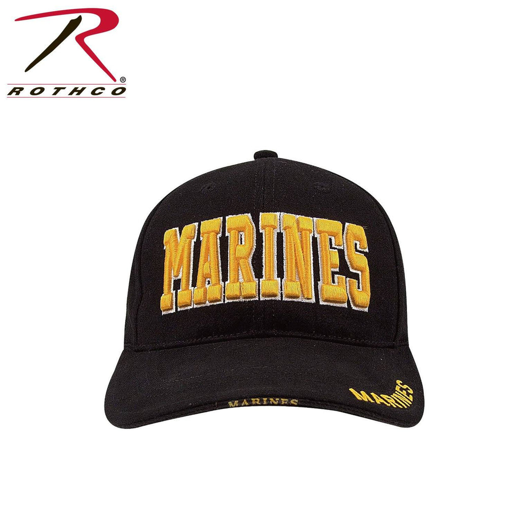 Rothco Deluxe Marines Low Profile Insignia Cap - Marine Corps Direct