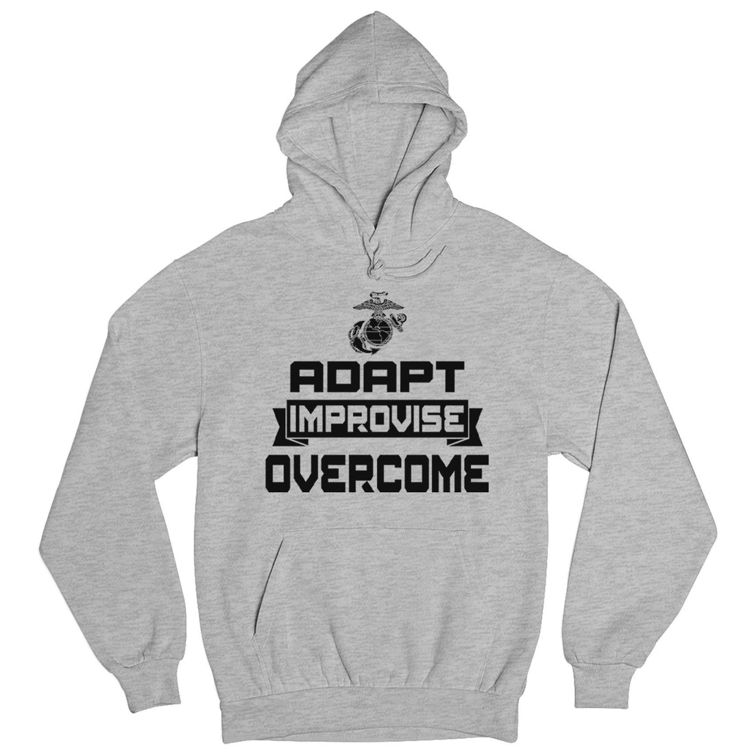 Adapt, Improvise, Overcome Hoodie - Marine Corps Direct