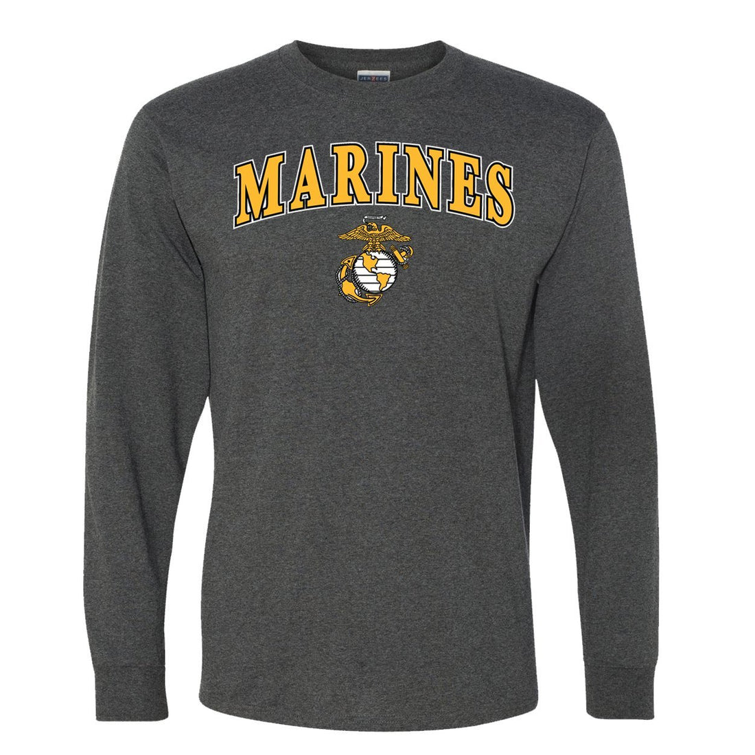 CLOSEOUT Gold Marines EGA Long Sleeve T-Shirt