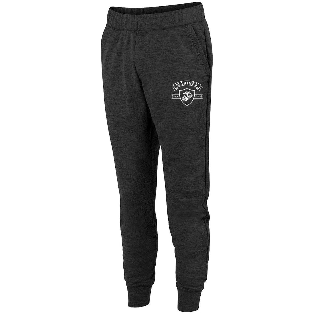 Limited Edition Marines Shield Heather Fleece Jogger