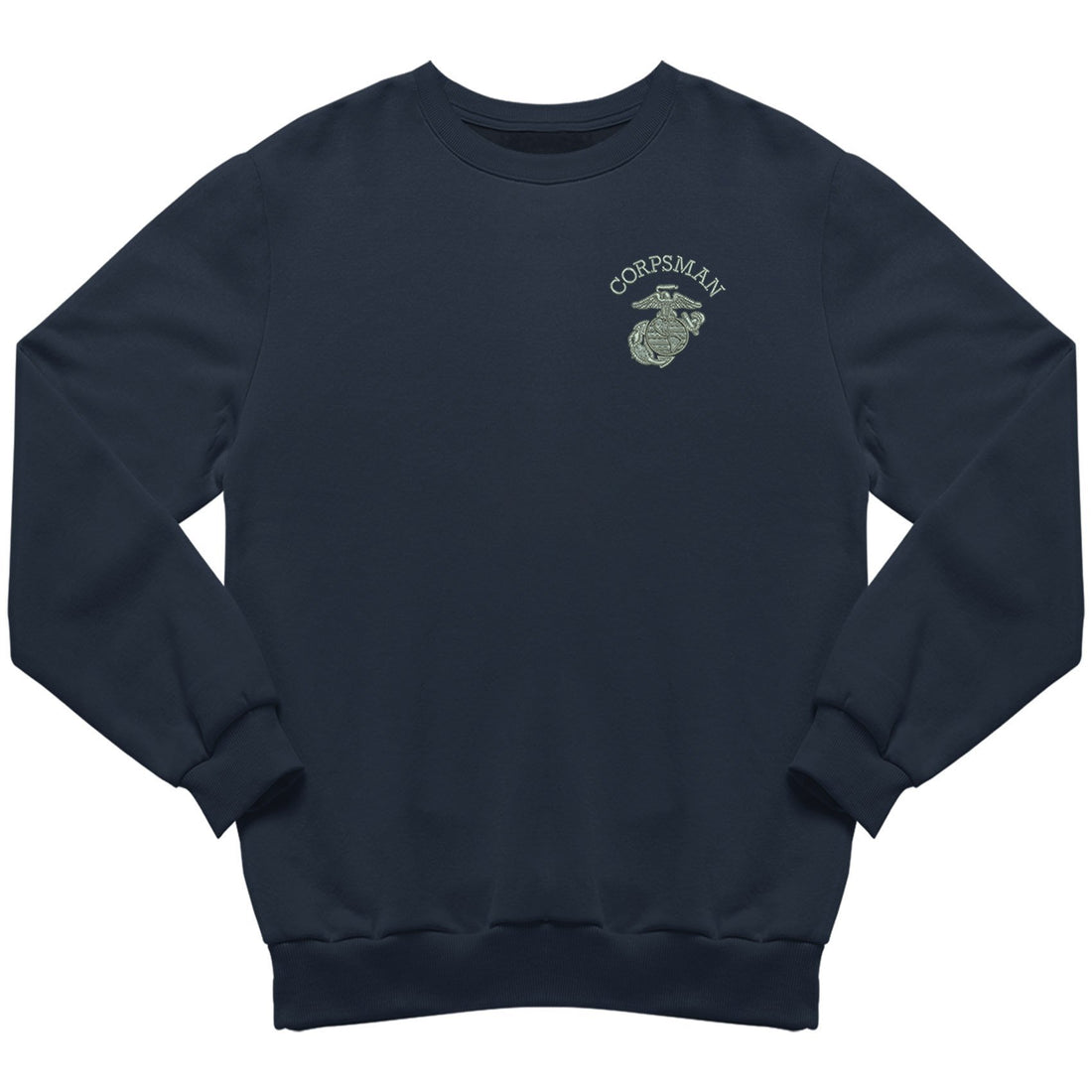Corpsman EGA Embroidered Sweatshirt - Marine Corps Direct