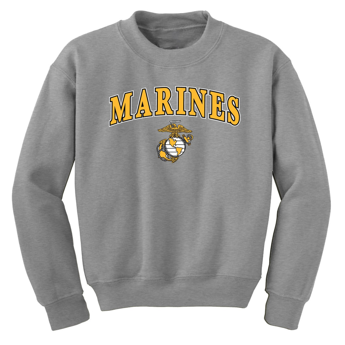CLOSEOUT Gold Marines EGA Sweatshirt - Marine Corps Direct