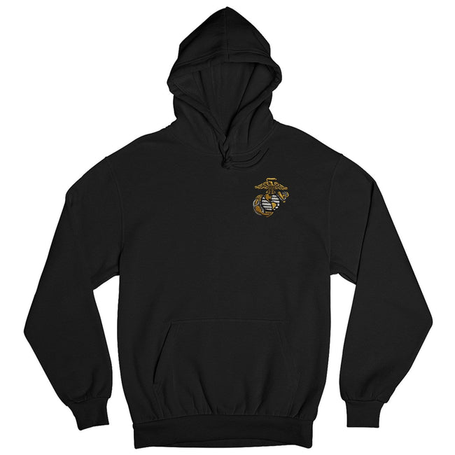 Gold EGA Embroidered Hoodie - Marine Corps Direct