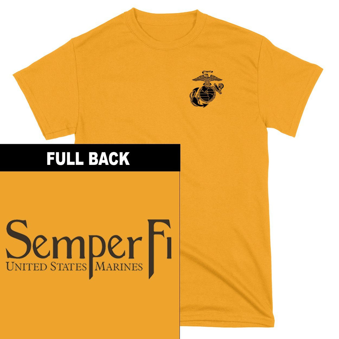 Semper Fi 2-Sided Youth T-Shirt
