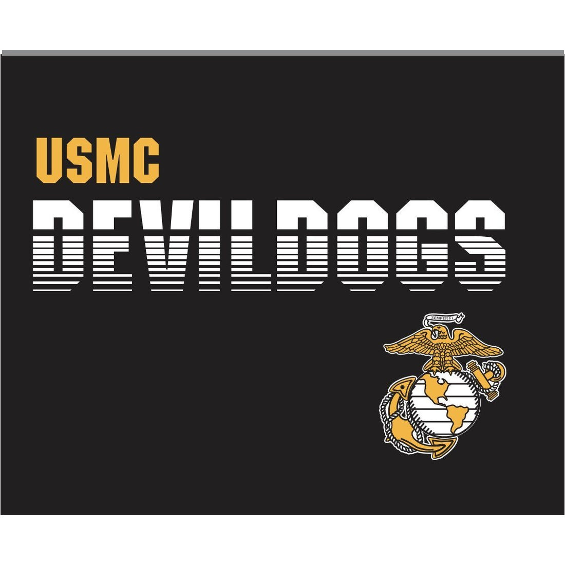 COMBAT CHARGED DRI-FIT PERFORMANCE POLY DEVILDOG T-SHIRT