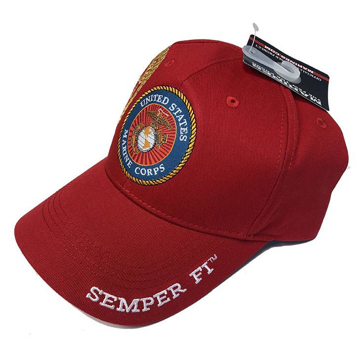 HAT Marine Corps Gold Seal Cover - Marine Corps Direct