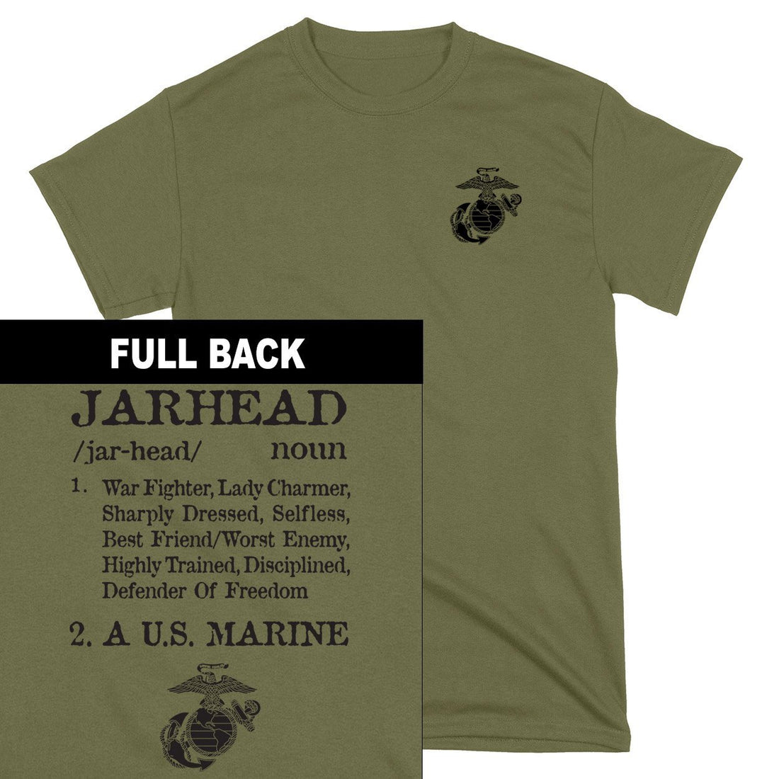 Jarhead 2-Sided T-Shirt