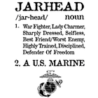 Jarhead T-Shirt 2-Sided