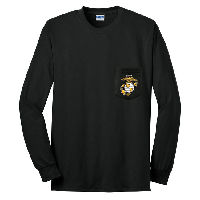 EGA Long Sleeve Pocket T-Shirt