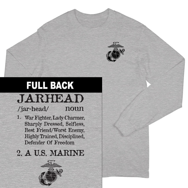 Jarhead 2-Sided Long Sleeve T-Shirt