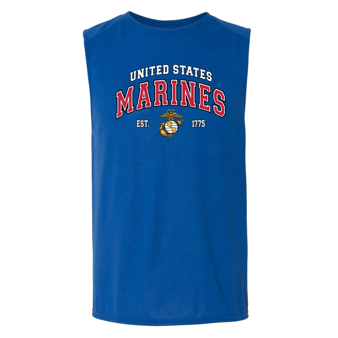 COMBAT CHARGED DRI-FIT PERFORMANCE POLY US MARINES SLEEVELESS