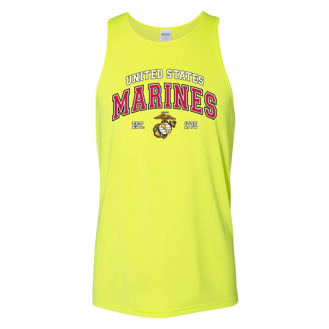 COMBAT CHARGED DRI-FIT PERFORMANCE POLY US MARINES TANK
