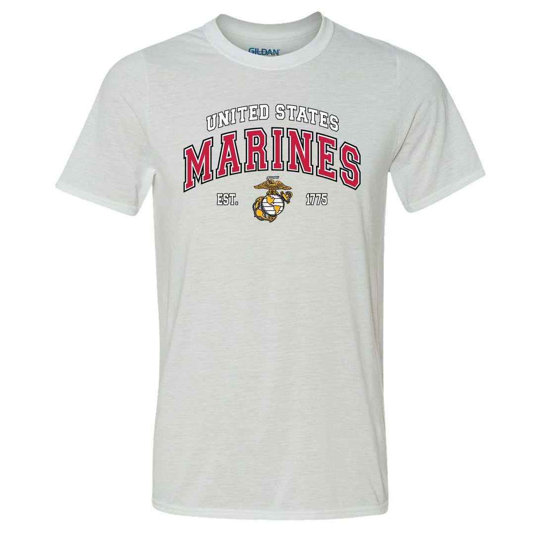 COMBAT CHARGED DRI-FIT PERFORMANCE POLY US MARINES T-SHIRT