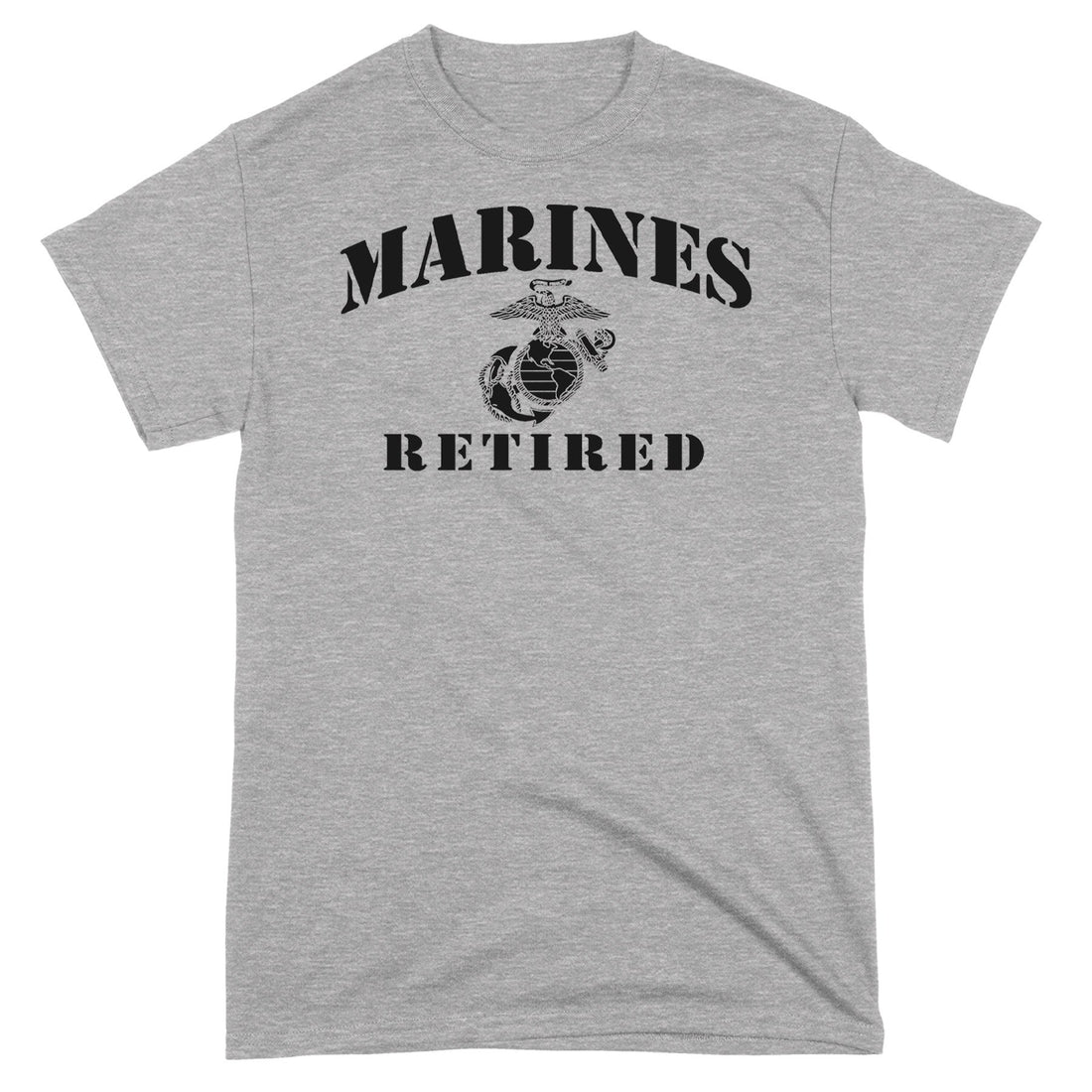 Marines EGA Retired T-Shirt - Marine Corps Direct