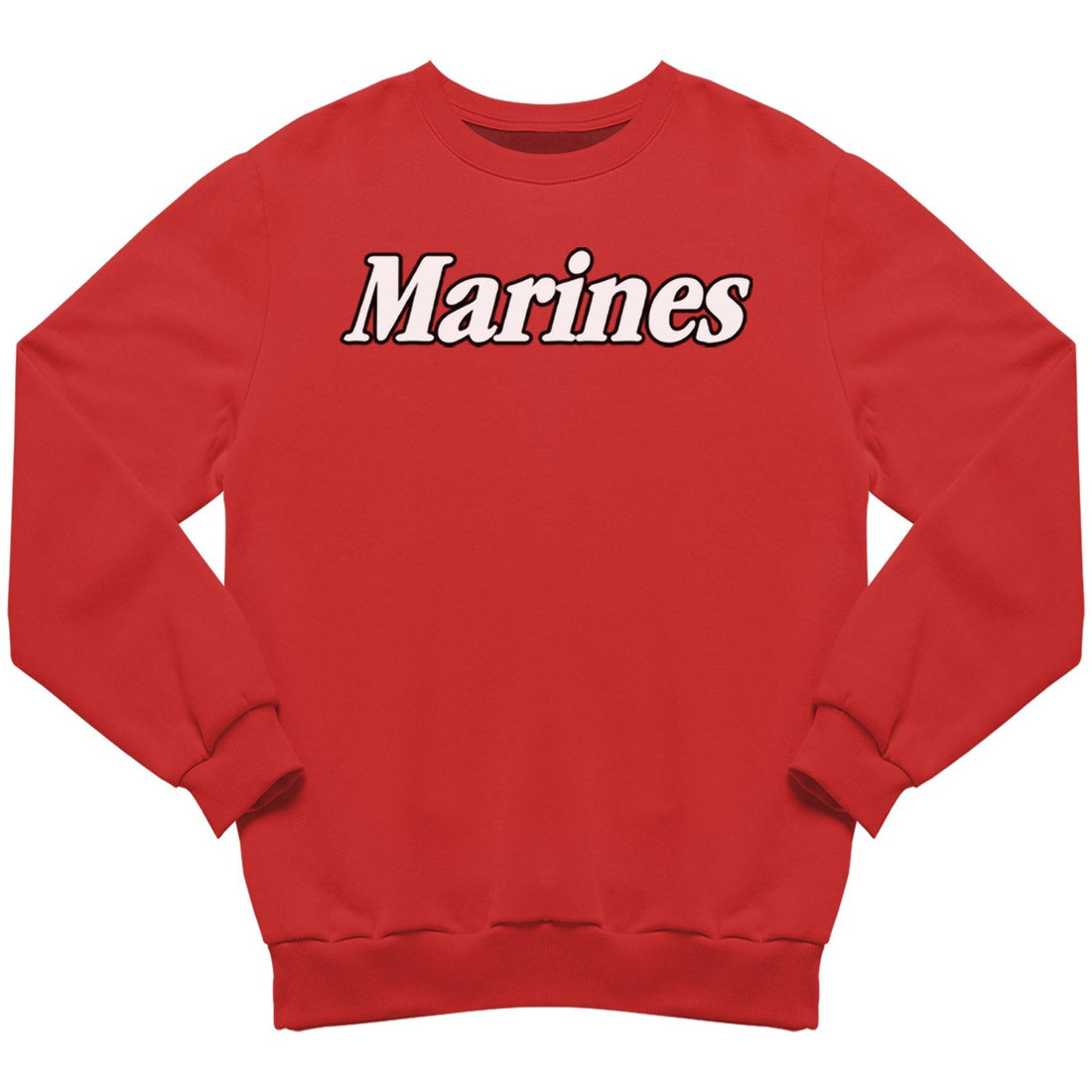 Outlined Marines Sweatshirt - Marine Corps Direct