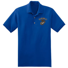 USMC Embroidered Polo (MULTIPLE COLORS) - Marine Corps Direct  - 5